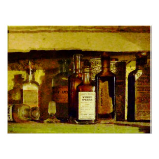 STARTING UNDER $20 - Syrup of Ipecac Poster