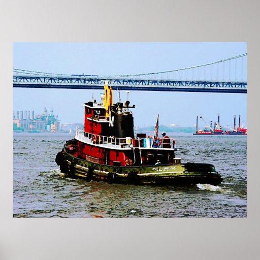 STARTING UNDER $20 - Tugboat at Penn's Landing Poster