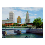 STARTING UNDER $20 - View from Waterplace Park Print
