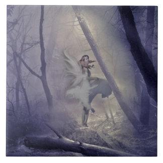Startled Fairy Print Tiles
