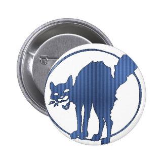 Startled Kitty Button