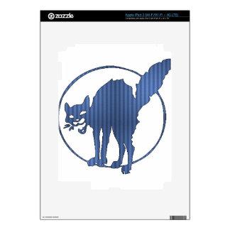 Startled Kitty iPad 3 Skin