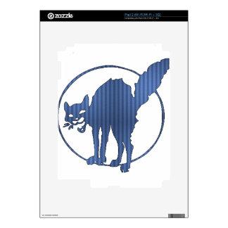Startled Kitty Skin For iPad 2