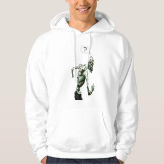 startled zombie hoodie