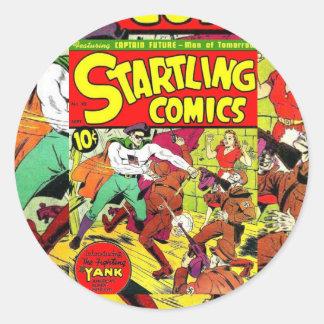 Startling 10 round sticker