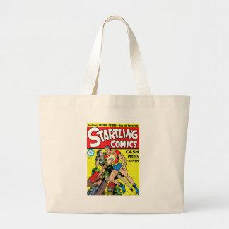 Startling #1 jumbo tote bag