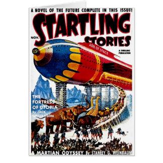 """""""Startling Stories"""" Card"""