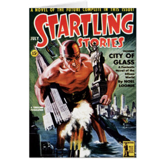 Startling Stories - City of Glass Card