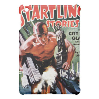Startling Stories - City of Glass iPad Case