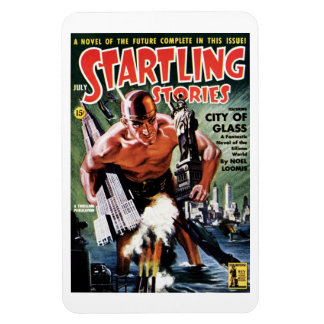 Startling Stories - City of Glass  Magnet
