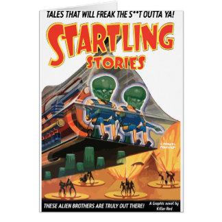 Startling Stories - Classic comic art Card