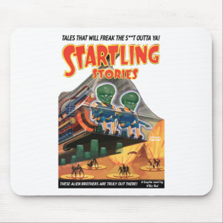 Startling Stories - Classic comic art Mouse Pad