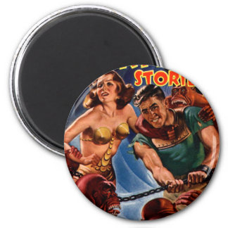 Startling Stories Fall Issue 2 Inch Round Magnet