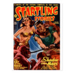 Startling Stories Fall Issue Postcards