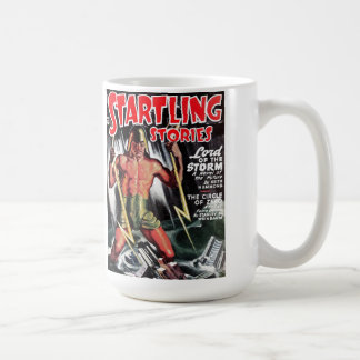 """""""Startling Stories"""" - """"Lord of the Storm"""" Coffee M Coffee Mug"""