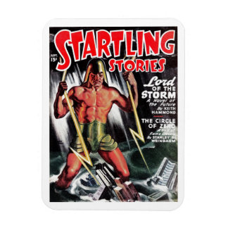 """""""Startling Stories"""" - """"Lord of the Storm"""" Magnet"""