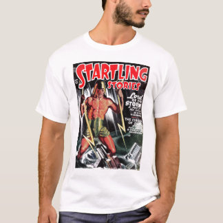 """Startling Stories - """"Lord of the Storm"""" Tee Shirt"""