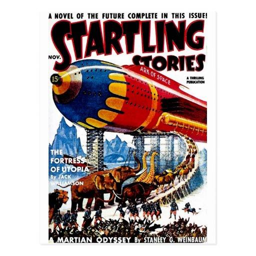 """""""Startling Stories"""" Postcard"""