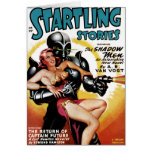Startling Stories - Shadow Men Card