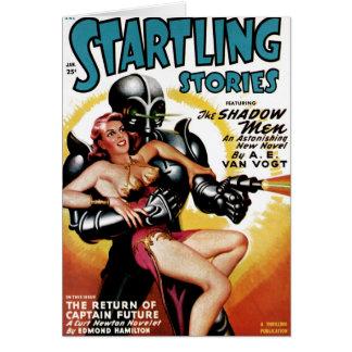 Startling Stories - Shadow Men Card