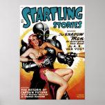 Startling Stories - Shadow Men Poster