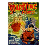 Startling Stories -- The Dimension of Chance Poster