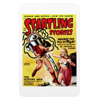Startling Stories - The Isotope Men  Magnet