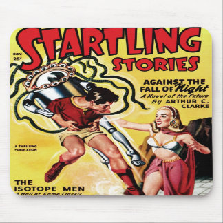 Startling Stories - The Isotope Men Mousepad