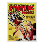 Startling Stories - The Isotope Men Poster