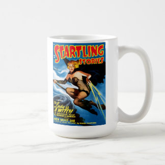 Startling Stories - The Lady is A Witch Mug