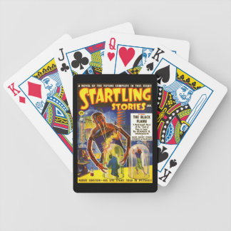 STARTLING STORIES Vintage Pulp Magazine Cover Art Bicycle Playing Cards