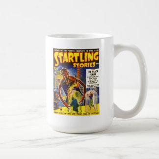 STARTLING STORIES Vintage Pulp Magazine Cover Art Coffee Mug