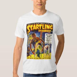 STARTLING STORIES Vintage Pulp Magazine Cover Art T Shirt