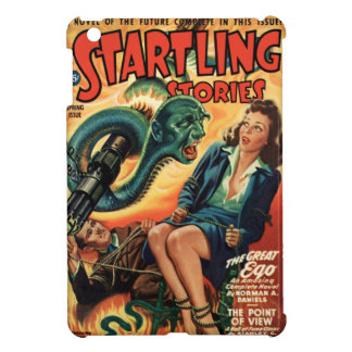 STARTLING STORIES-VINTAGE PULP MAGAZINE COVER iPad MINI COVERS
