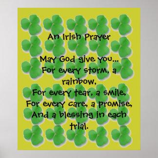 Starts At $11.20  An Irish Prayer Poster