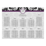 starts at $12.80 Seating Chart Table Numbers Posters