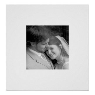 Starts at $14.95 Your Photo Wedding Poster