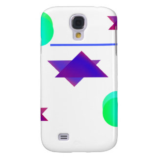 Starts Stripes and balls Galaxy S4 Case