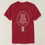 [ Thumbnail: Startup Success From Real Work, Not Table Tennis T-Shirt ]