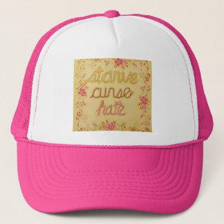 Starve Curse Hate Trucker Hat