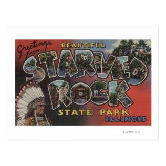 Starved Rock State Park - Large Letter Scenes Postcard