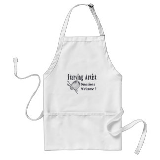Starving Artist Adult Apron