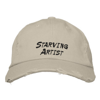 Starving Artist Funny Hat