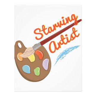 Starving Artist Letterhead
