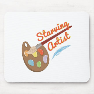 Starving Artist Mouse Pad