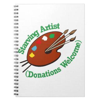 Starving Artist Notebook