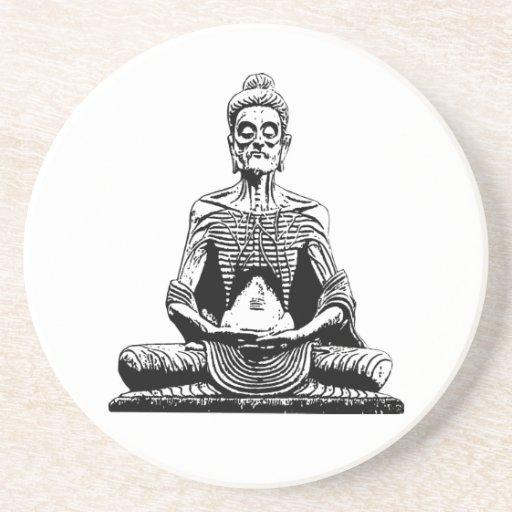 Starving Buddha Coaster