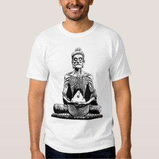 Starving Buddha T shirt Fasting Siddhartha