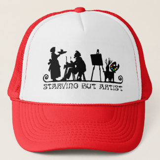 Starving But Artist Trucker Hat