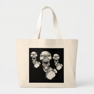 Starving Dead Large Tote Bag
